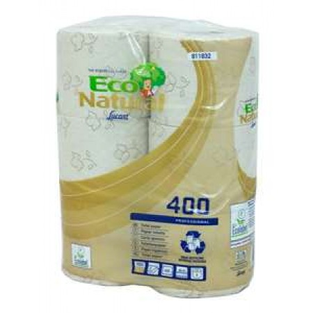 Eco Natural Brown Toilet Roll 2PLY