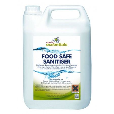 Food Safe Liquid Sanitiser 5L