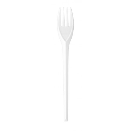 Catering Disposable White Plastic Fork