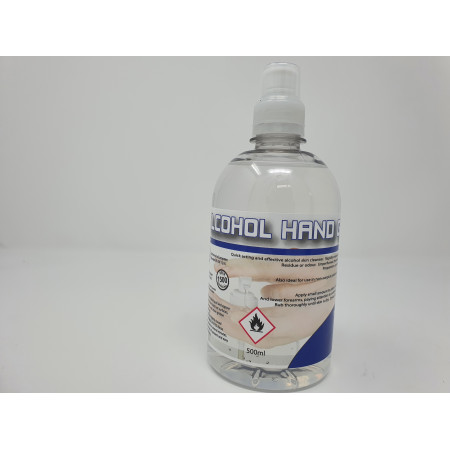 Sanitiser 70% Alcohol Hand Sanitising Gel 500ml