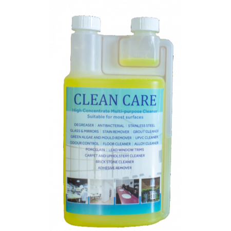Clean Care 1L Twin Capp Dispensing Bottle