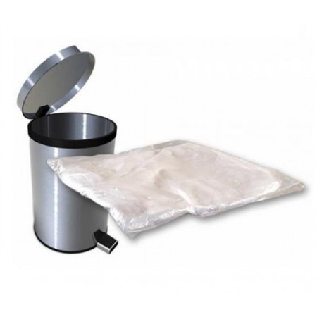 White Pedal Bin Liners