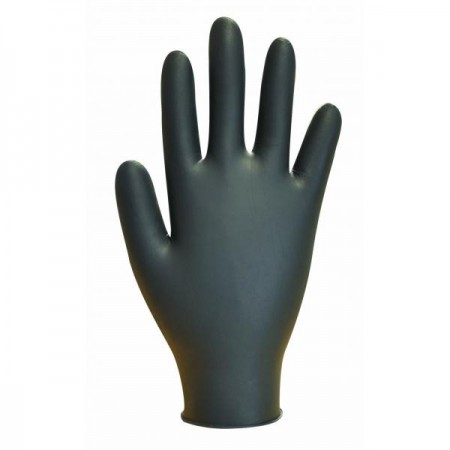 Gloves Black Powder Free Nitrile Gloves