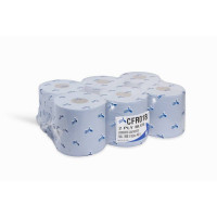 SPECIAL OFFER     Esfina 2 Ply  Blue Embossed Centrefeed Roll