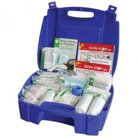 Catering First Aid Kit Blue Medium