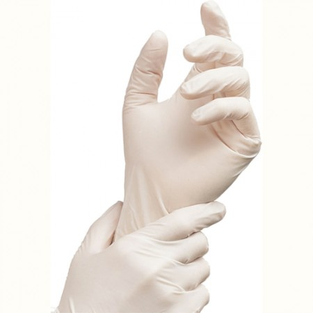 Gloves Latex Powder Free Clear 100's