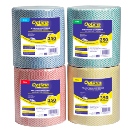 Optima All Purpose Cloth Rolls