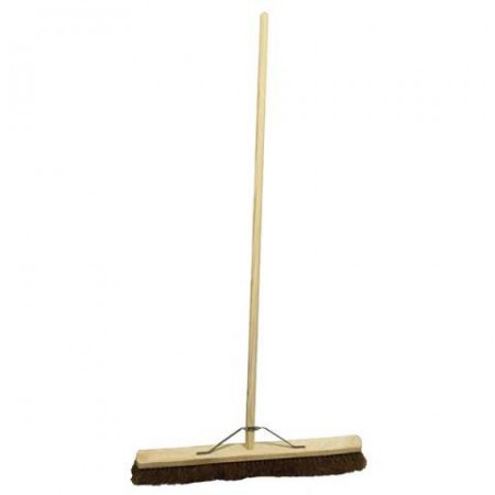 "18"" Coco Broom With Handle"