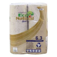Eco Natural Brown Toilet Roll 3PLY