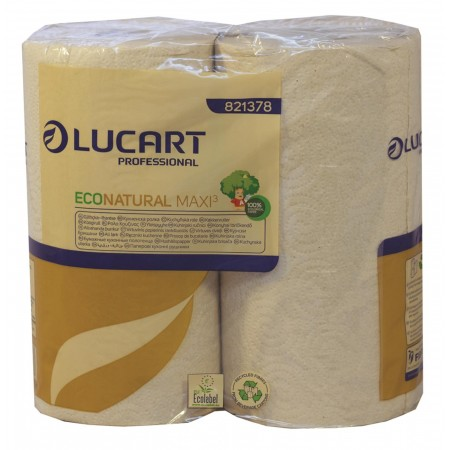 Eco Natural Brown Kitchen Roll 24's