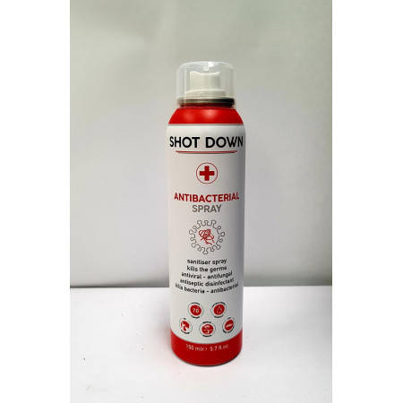 Disinfectant Spray Shot Down