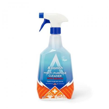 Astonish Multi-Surface Cleaner With Bleach 12 x 750 ml