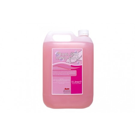 Hand Soap Unperfumed Liquid Pink Pearlised  Soap