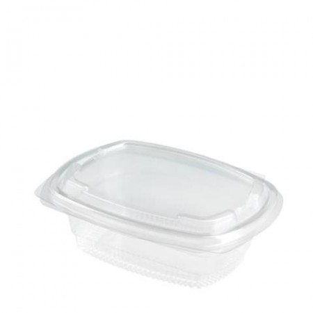 Salad Box 375ml Hinged PET