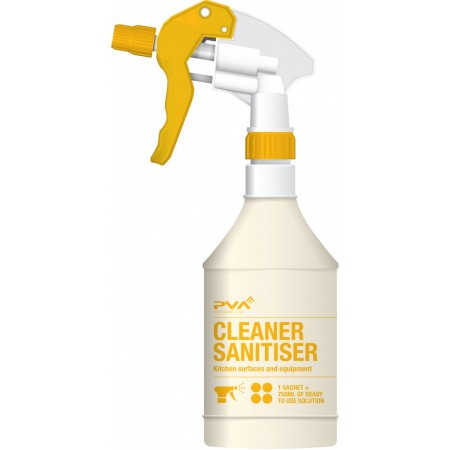 Soluble PVA Sanitiser Foodsafe Trigger Spray Bottle PVA 750ml