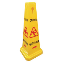 Wet Floor Cone Sign Large