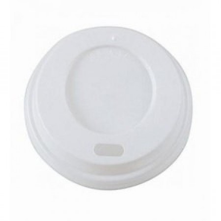 Drinks White Sip Cup Lids 12oz