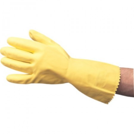Gloves Yellow Rubber Gloves